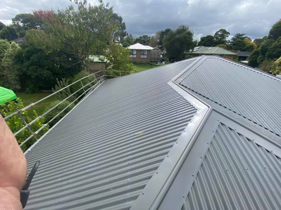 New Colorbond Roof in Croydon