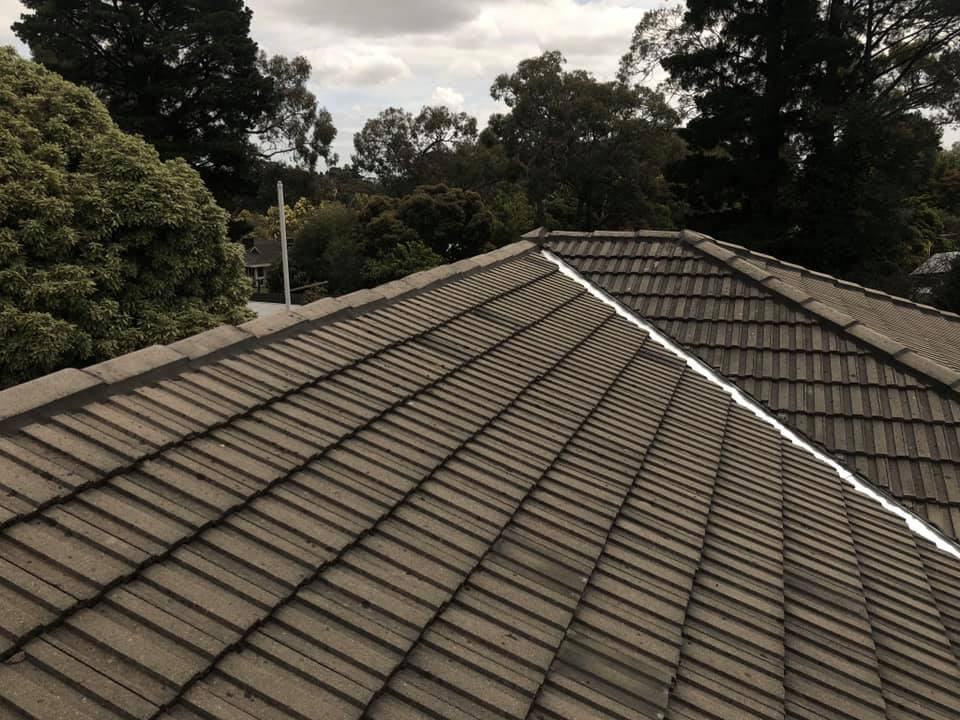 Re-Bed and Point & Valley replacement completed in Harkaway
