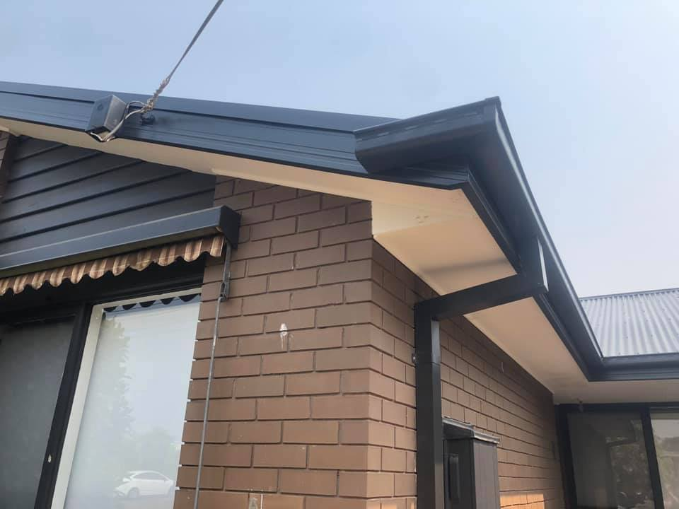 Tile to Tin Re Roof, Facia cover and gutter replacement. Completed in Junction Village